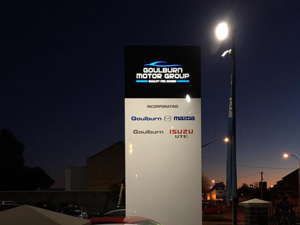 Mazda Pylon Goulburn