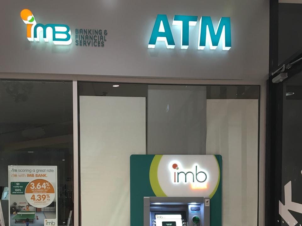 IMB Mall Signage Canberra
