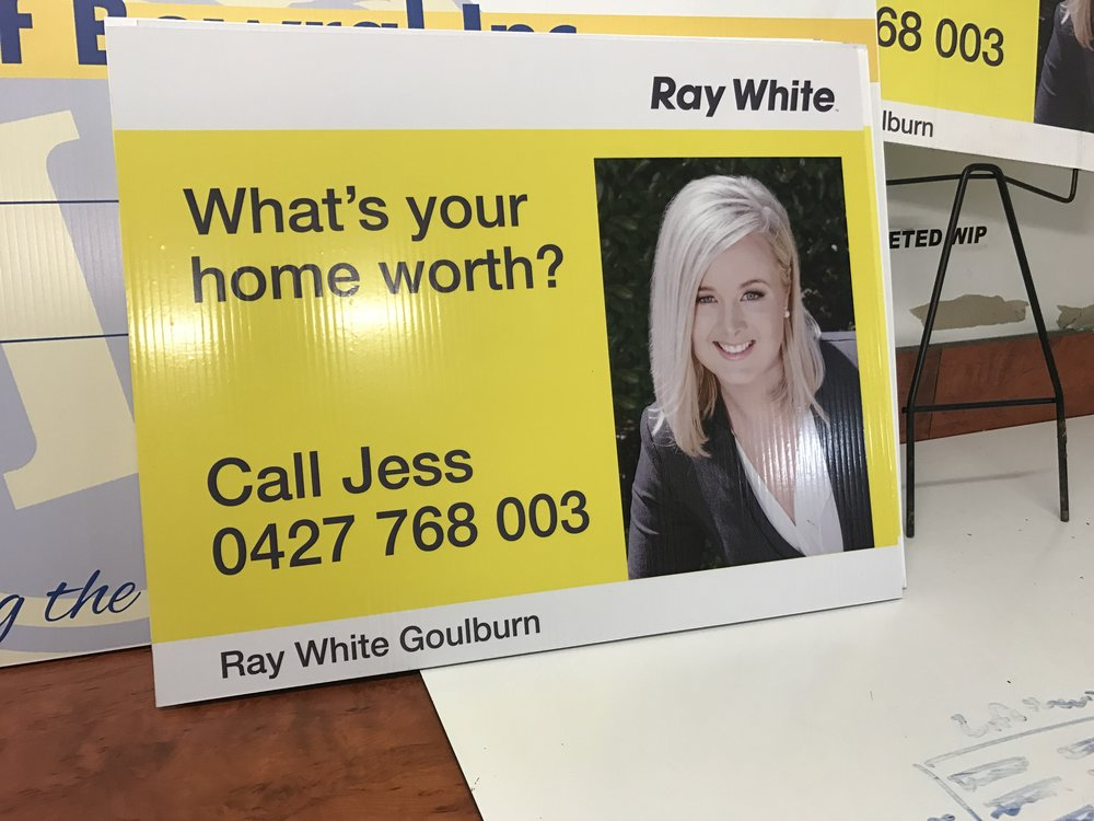 Ray White Corflutes