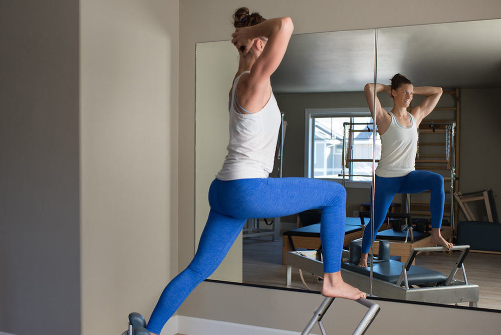 Emily Smith-Wilson is a classically trained Pilates instructor in Bozeman, Montana.