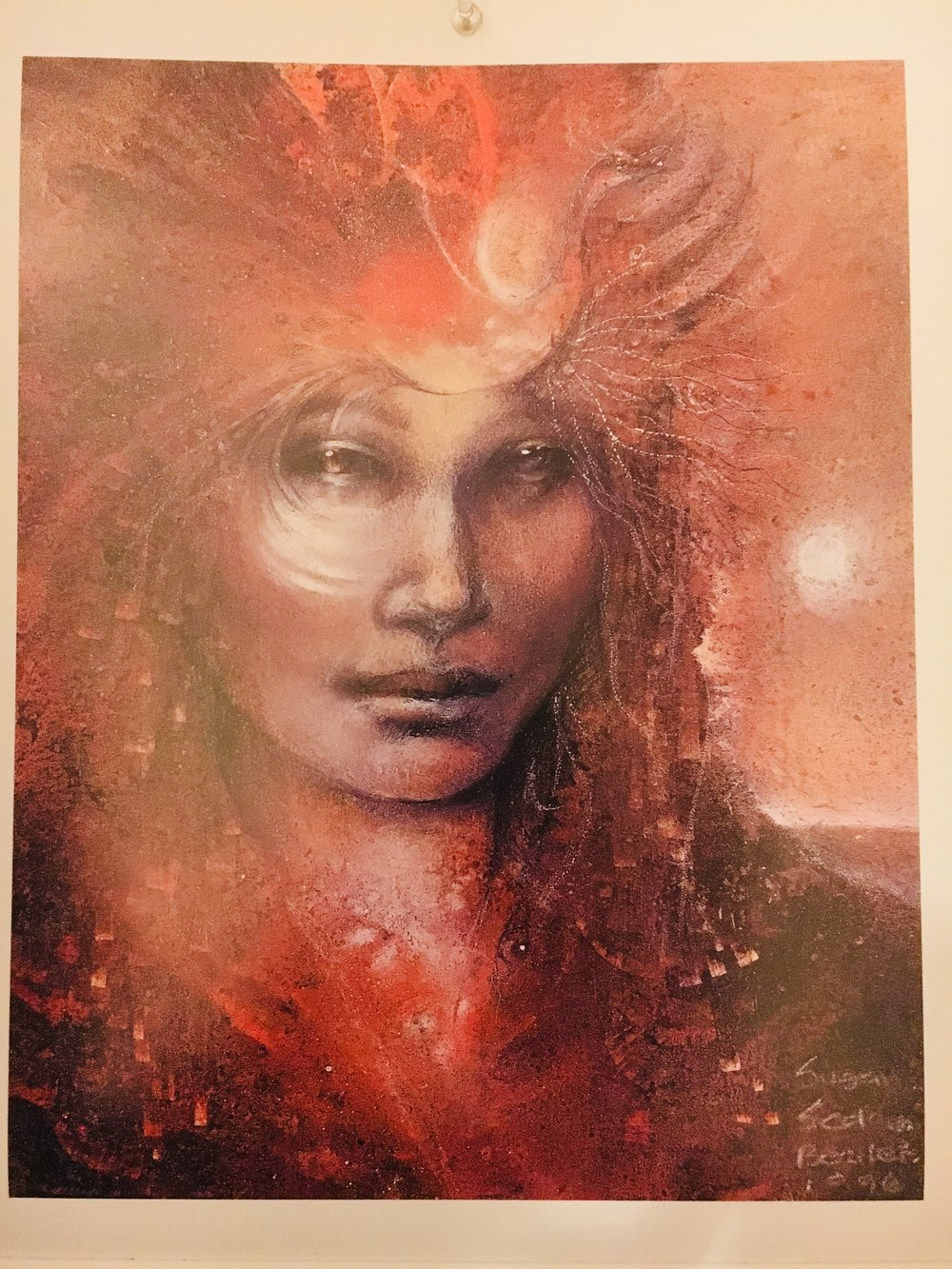 Goddess Brigid  ... Art by Susan Seddon-Boulet