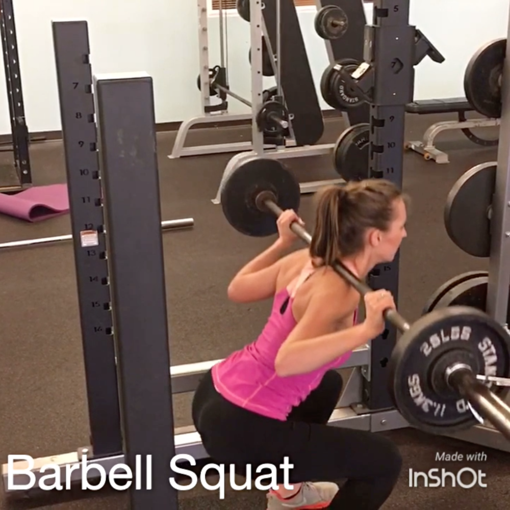 Cooley-Barbell-Squat