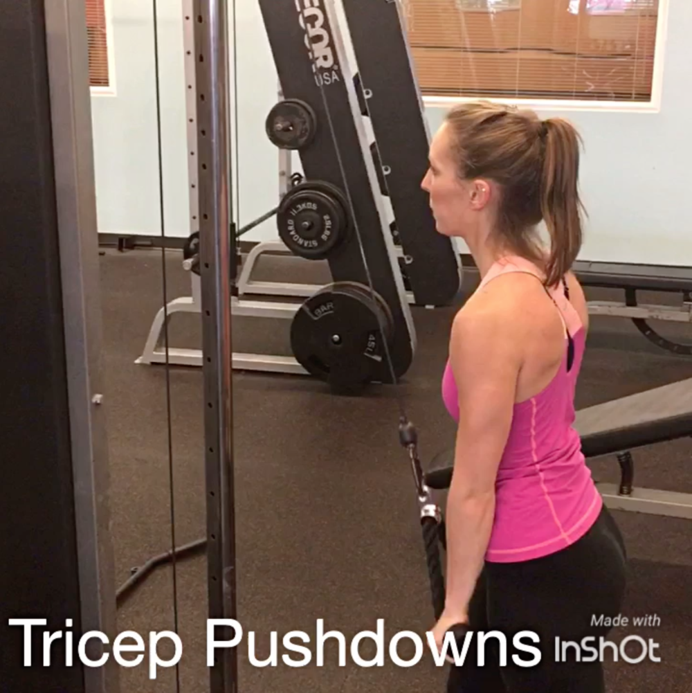 Cooley-Tricep-Pushdown