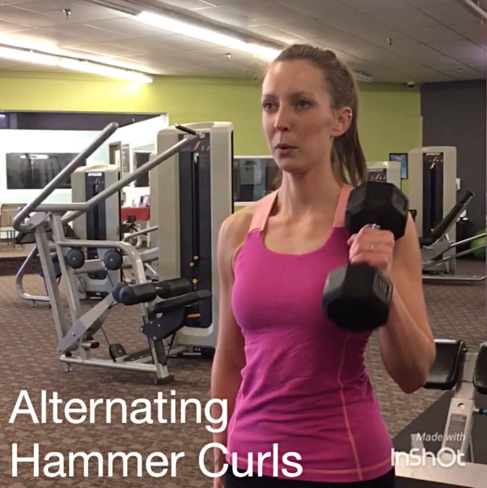 Cooley-Alternating-Hammer-Curl