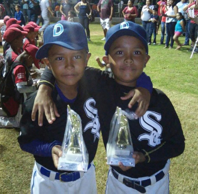 Nine-year-old Wilfredo and Eddy from Ecuador are among the youngsters reached by PIFB.