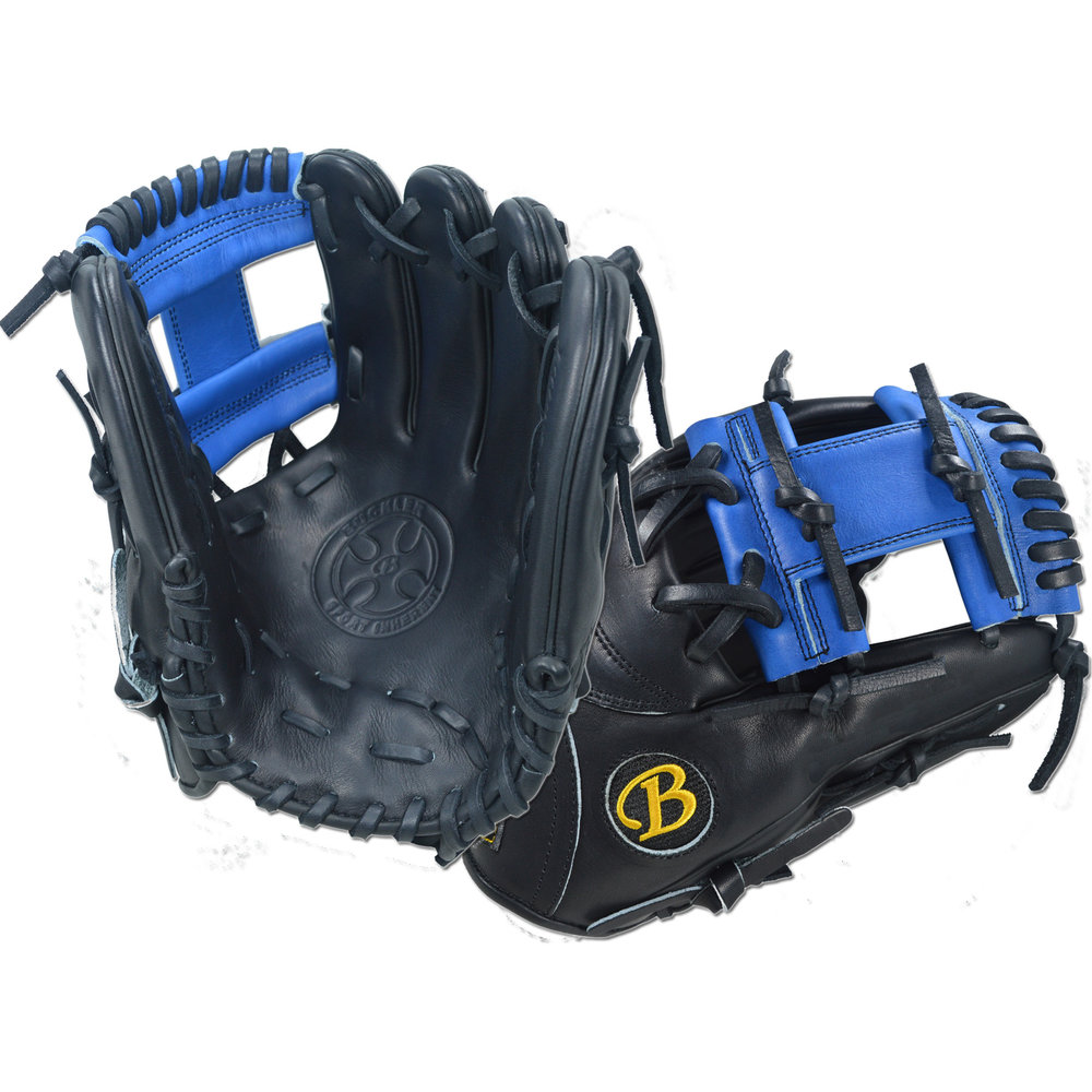 "Custom by Floethe ·      Size: 11.5"" ·      Web: I-web ·      Glove Color: Black 