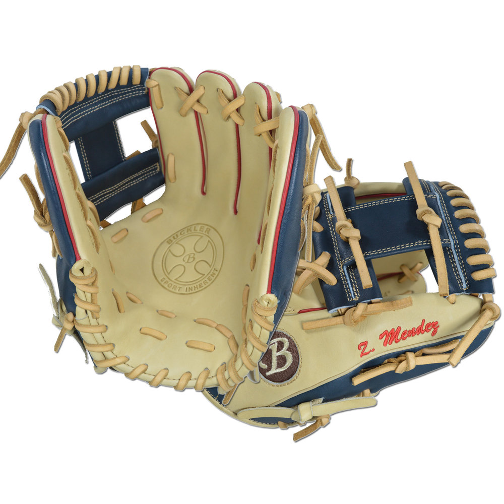 "Custom by Mendez ·      Size: 11.5"" ·      Web: I-web ·      Glove Color: Camel 