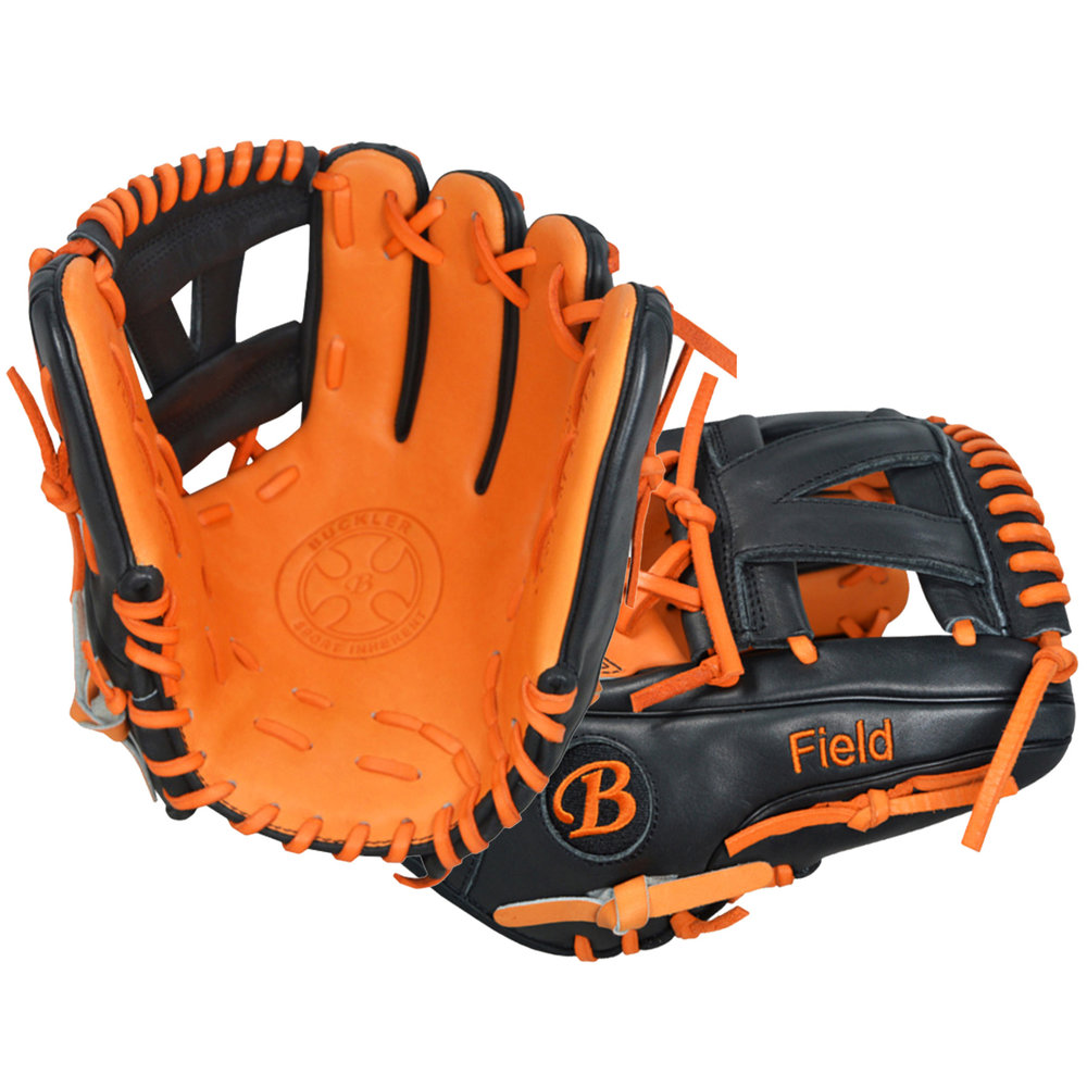 "Custom by Field   ·       Size : 11.5""  ·       Leather : Premium USA Steerhide  ·       Web : I-Web  ·       Glove Color : Black 