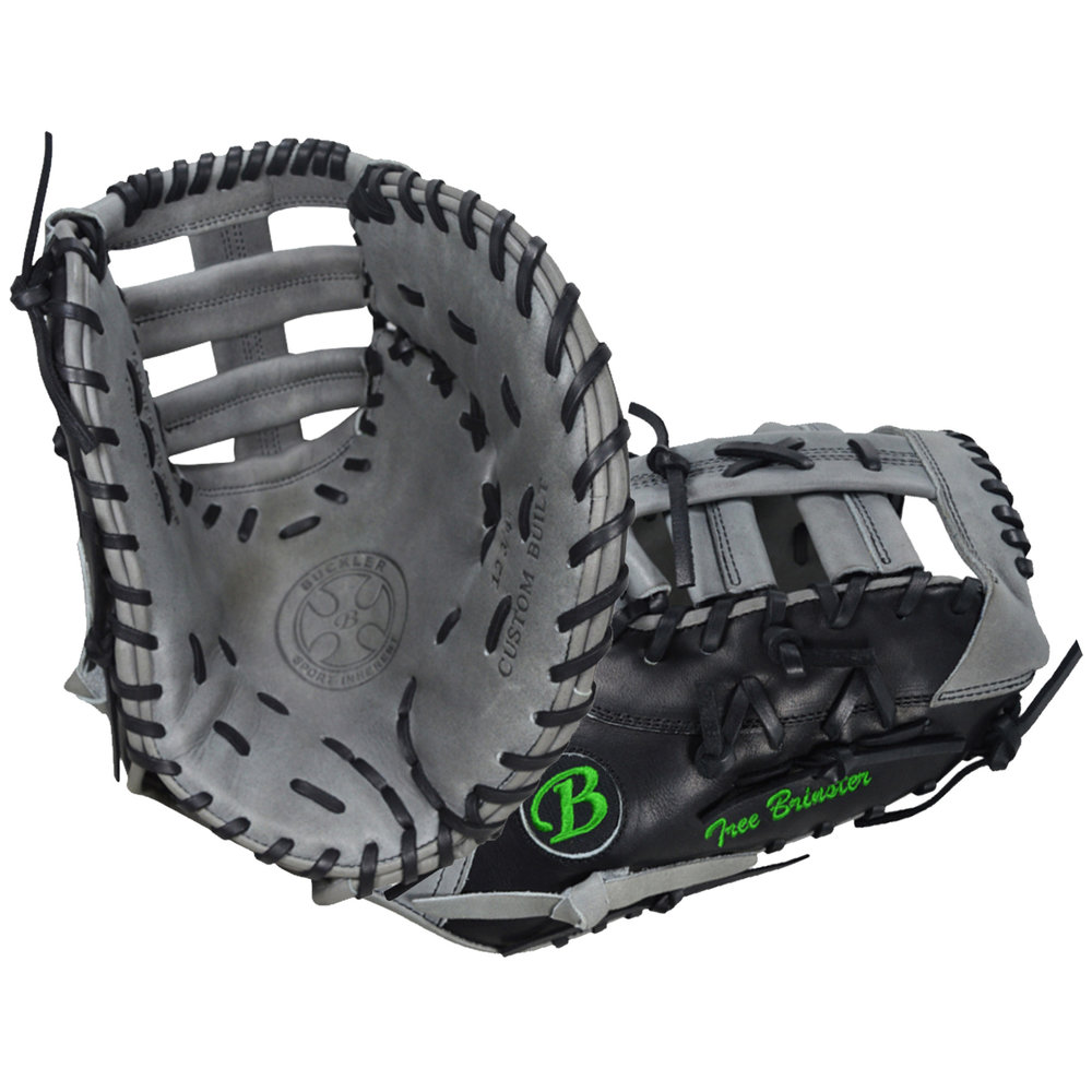 "Custom by Tree Brinster   ·       Size : 12.75""  ·       Leather : Premium Texas Steerhide  ·       Web : Triple Post  ·       Glove Color : Black 