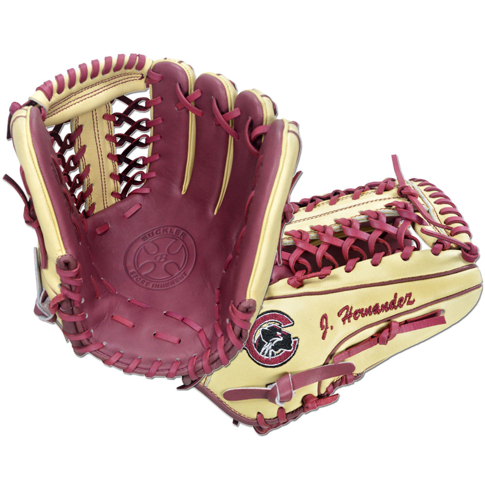 "Custom by Hernandez   ·       Size : 11.75""  ·       Leather : Premium USA Steerhide  ·       Web : T-Net  ·       Glove Color : Camel 