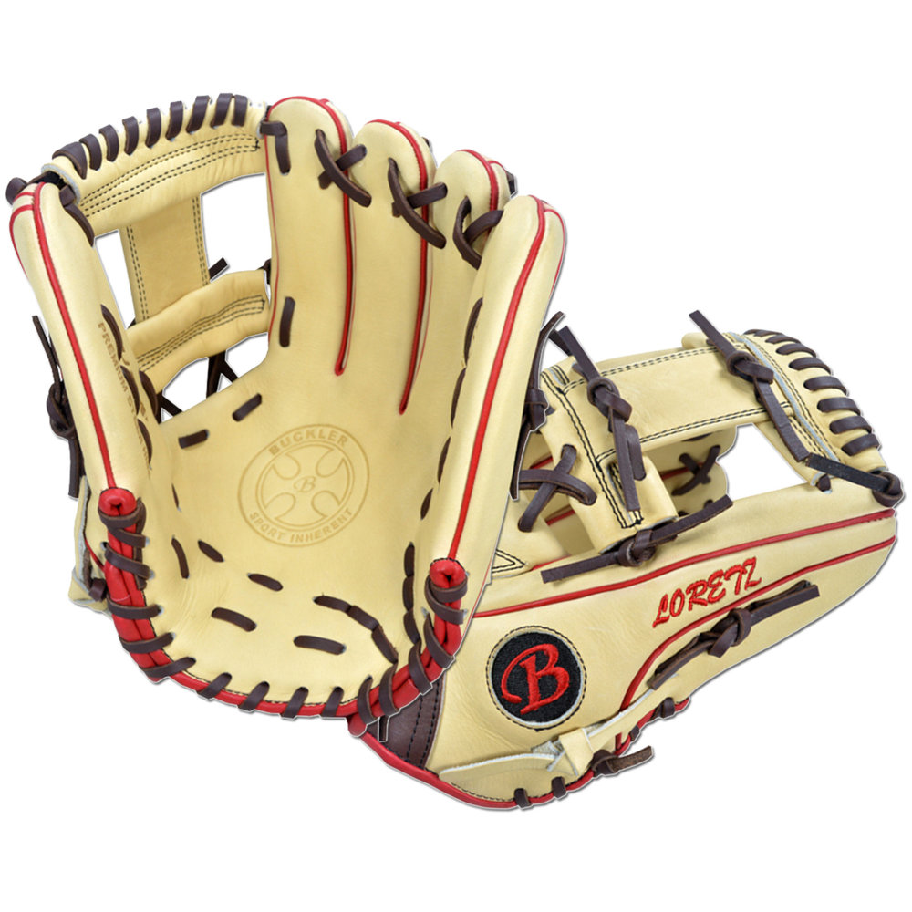 "Custom by Loretz   ·       Size : 12.25""  ·       Leather : Premium USA Steerhide  ·       Web : I-Web  ·       Glove Color : Camel 