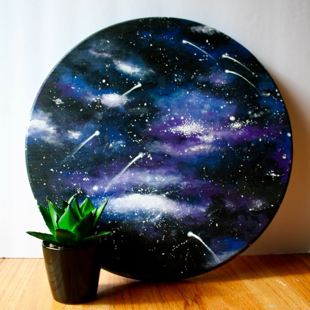 Galaxy Circle Plaque