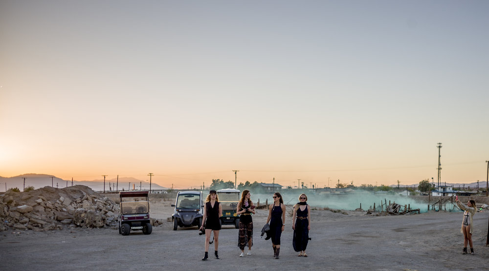 Venturing to the shoreline for the Bombay Beach Biennale Sunset Opera performance_photo by Tao Ruspoli.jpg