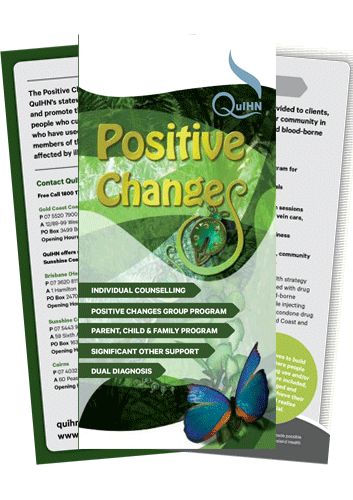 Positive Changes Service Brochure