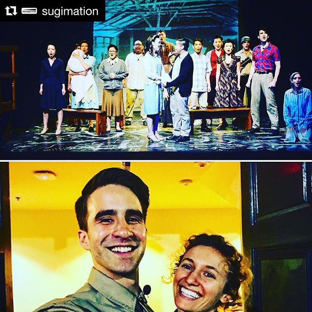It has been a wonderful adventure of a run!  #Repost @sugimation (@get_repost) ・・・ These people brought it every single day! Can't say enough about their dedication and craft as artists! Huge thank you to @gfbnec @goforbrokespiritbook @sidneykanazawa and @allegiancebway for taking part in our matinee talk back. Thank you to all of you who have continued to support us through our journey, rest assured we will be back, we won't stop! Also my everyday crush @rulerjuler for keeping everything going (: #love #fun #allegiance #japaneseinternment #ww2 #honor #family #friendshipgoals #relationshipgoals #passion #craft #artists #history #past #neverforget