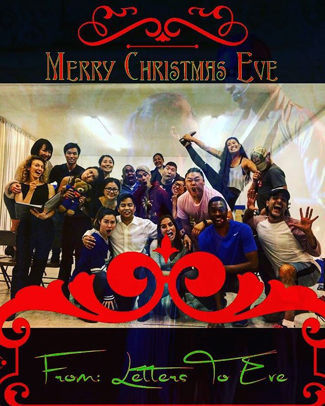 Merry Christmas Eve from Letters To Eve! Hope you all got your letters to Santa in! #love #fun #seasonal #christmas #theatre #fantastic #dance #snow #holidays #safe #japaneseinternment #ww2 #passion #cookies #gifts #family #winter #winterwonderland
