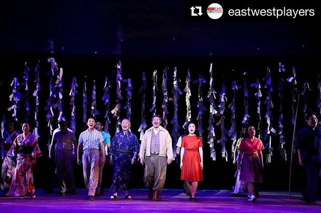 Happy Opening Weekend @allegiancebway and @eastwestplayers! Excited to be able to engage more in these important histories! Excited to be there Sunday! . . #Repost @eastwestplayers with @get_repost ・・・ Happy Opening #AllegianceLA! Break legs! #easwestplayers #discoverjaccc #lathtr #letterstoeve #dtla #littletokyo