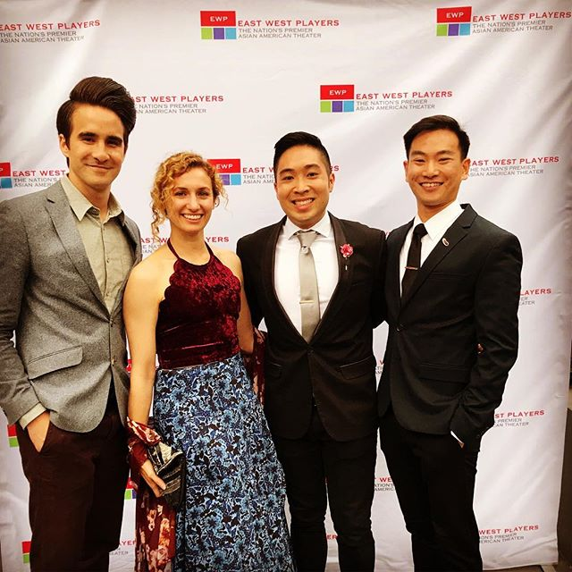So great to see some of the Letters To Eve fam at the #EWPgala! @justinwyu performed an encore from his role in Next To Normal at @eastwestplayers! . . #letterstoeve #asianamerican #ewp #lathtr #gala #cast #snazzy #theatrefamily