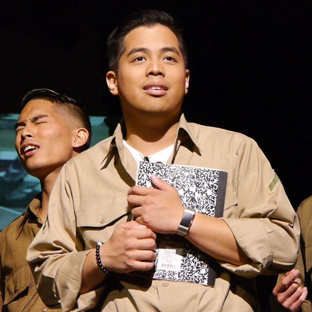 A very Happy Birthday to our Ray-of-sunshine @mbiteng! Not only is he talented, but his kindness and passion shines on everyone he meets.  Check out his music! . . #letterstoeve #cast #rayofsunshine #lathtr #happybirthday #singer #actor #musician