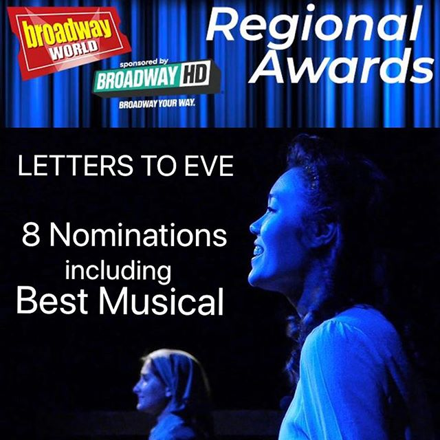 So honored to have our independent musical recognized with nominations for the @officialbroadwayworld Regional Awards! . You can VOTE at link in bio! Thank you for the support. . . #LettersToEve #lathtr #broadwayworld #latheatre #bestmusical #newwork #newmusical #musicaltheatre #wwii #japaneseamerican #internmentcamp #asianamerican #learnfromthepast #epic #betterfuture #changethefuture #warheroes #442nd #442 #goforbroke #broadway #lettersfromwar #newmusic #vote #voting #awards #thearts #supportthearts #laarts