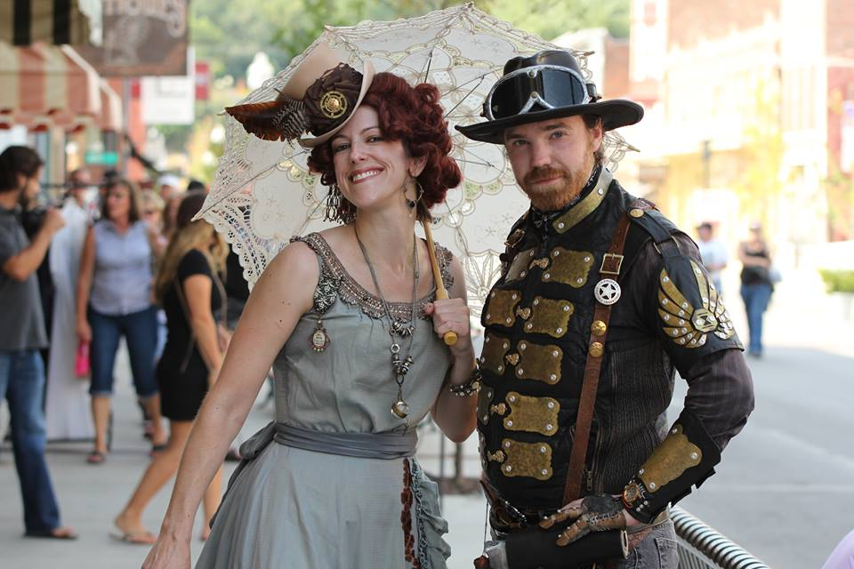 Photo by Mike Lockett, Courtesy of www.BigRiverSteampunkFestival.com