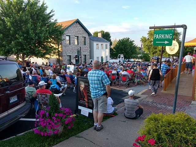 Tonight from 7-9pm Steppin' Back returns to the stage for the final Music Under the Stars of the season!  Photo Credit: Aunt Polly's Treasures - stop in a peruse some great antiques during the show or at intermission!  #historichannibal #visithannibal #hannibalmo #high5hannibal #quincyil #missouriadventure  #visitmo #marktwain #showmestate #mo #explore #showme #supportlocal #community #shoplocal #wanderlust #travelgram #instatravel #travel #adventure #musicunderthestars #marktwainboyhoodhome #tomsawyer #summerconcert #summerconcerts #summerconcertseries