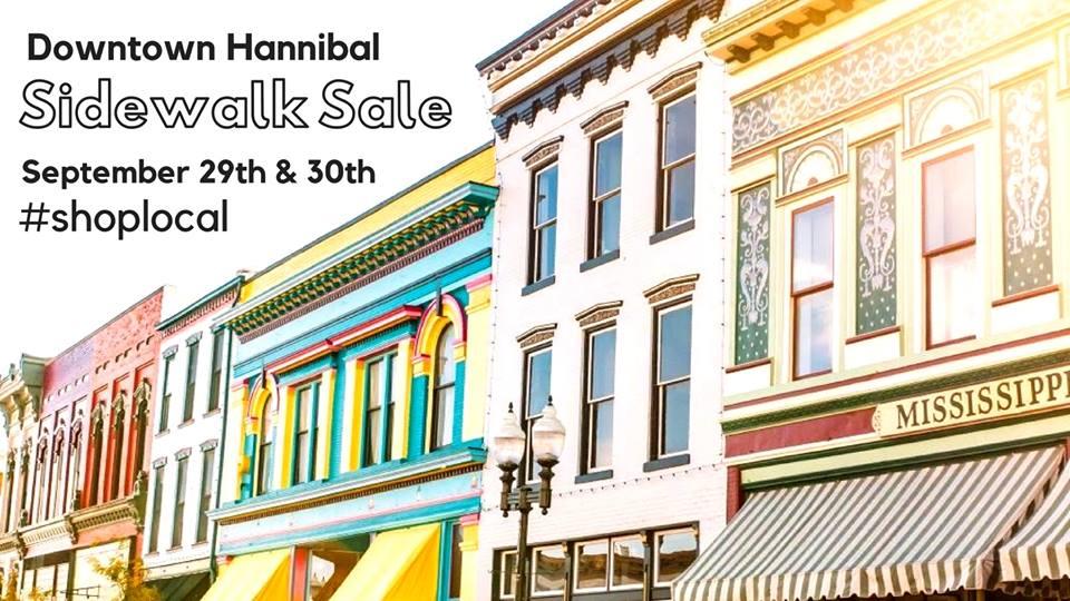 Hannibal, MO - Fall Sidewalk Sale 2018