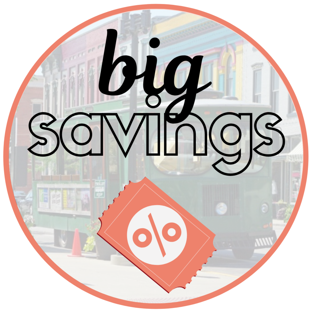 Shop Small, Save Big. - Shop small and enjoy big savings at local businesses in downtown Hannibal! This year merchants are offering even bigger and better savings than before. Click below to find out more.