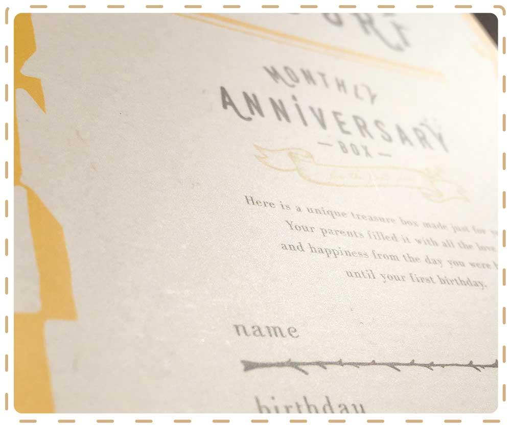 IRODORI monthly anniversary box