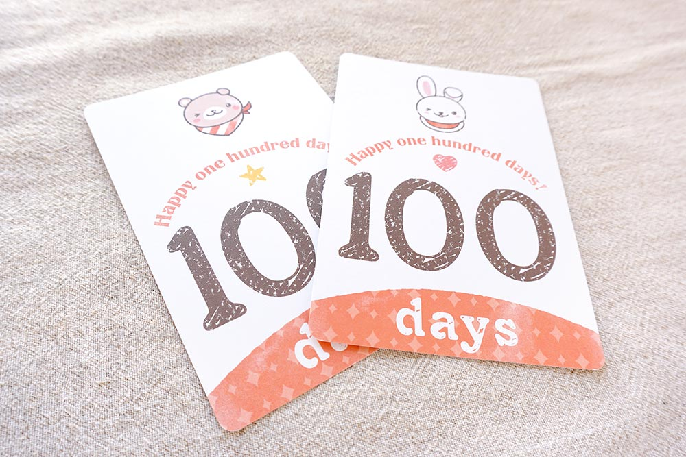 IRODORI 100days monthly cards