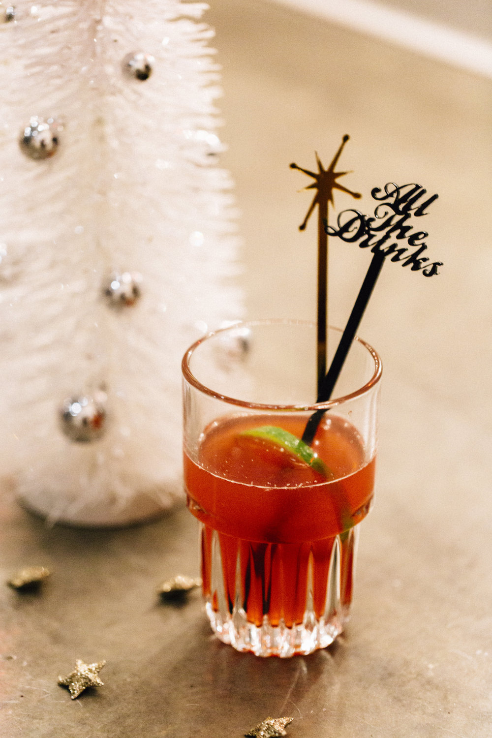 Holiday Mixology Class - Styling by Ashley Spence