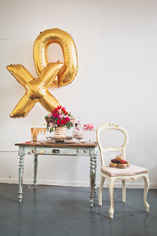 Galentine's party! Styling by Ashley Spence - ashleyspence.com