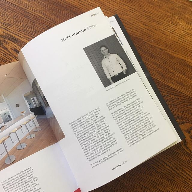 Latest edition of Defign magazine featuring our own Matt Hodson and the the award winning home design. #insightarchitecture #defignmagazine #residentialarchitecture #architecturaldesigner #awardwinningarchitecturaldesign