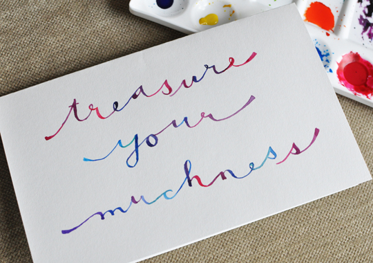 treasure your muchness