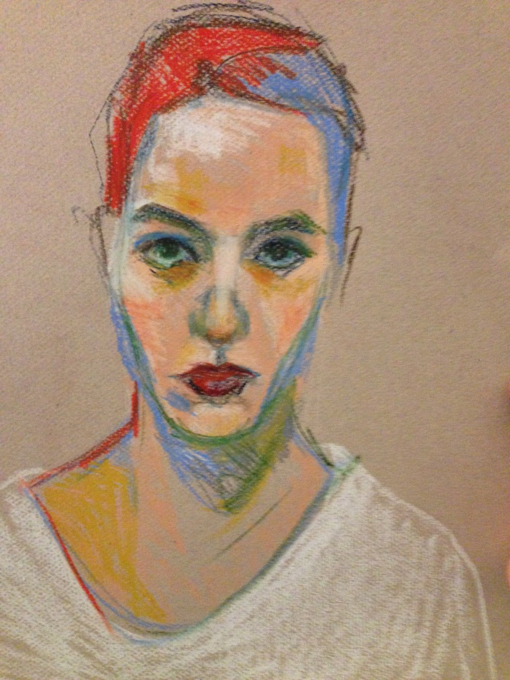 """Portrait sketch"" 2014"