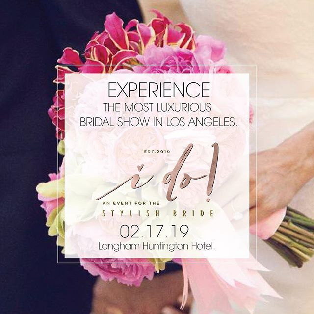 We can't wait for all the #engaged💍 couples to experience what will be one of the most memorable days of #weddingplanning ! Do you have your tickets yet? {link in profile} #bridalevent #losangeles #labride #southercaliforniawedding #langhampasadena #weddingplanning #weddingevent