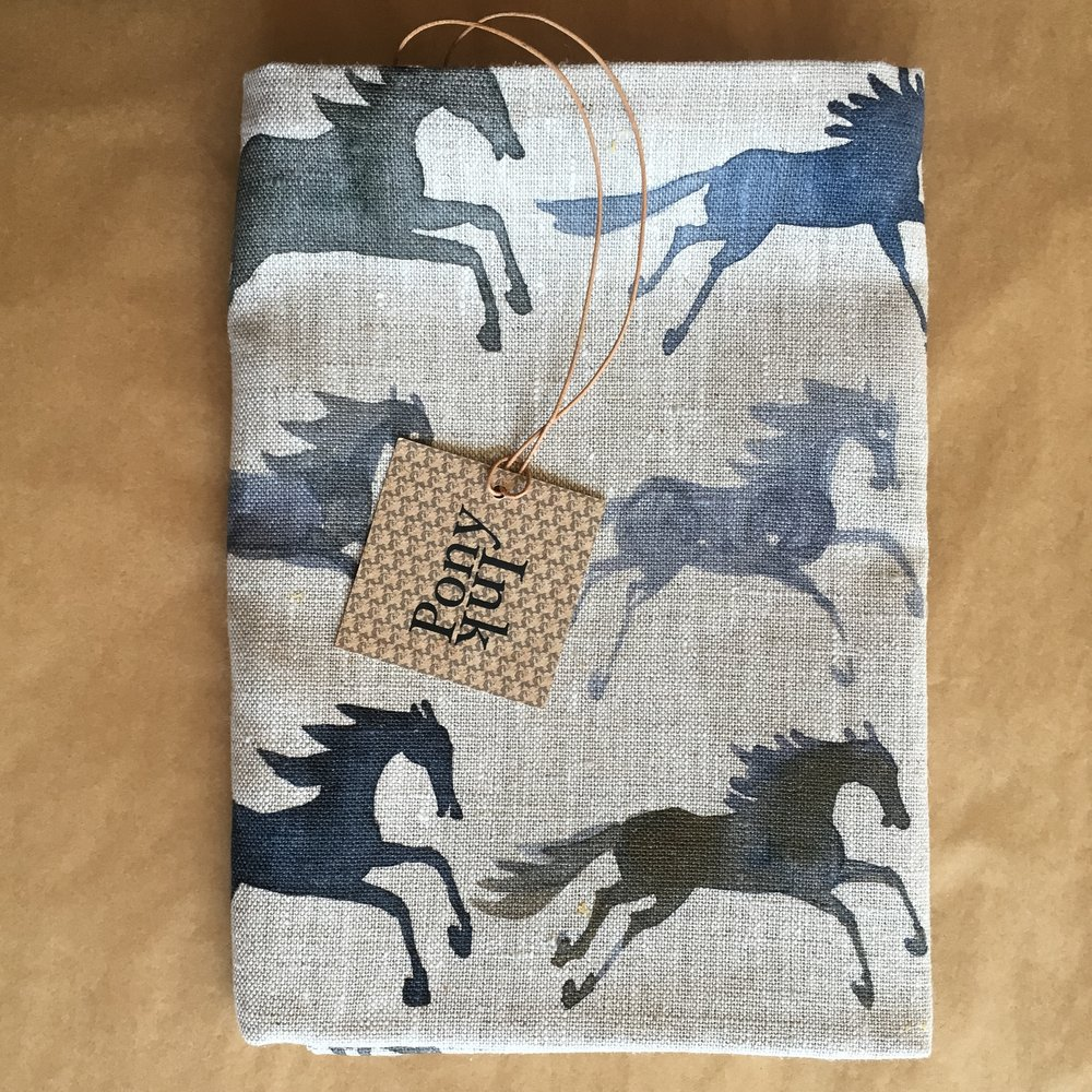 So inspired by pattern right now, and coming up with new pony patterns! Pony Ink inky pony pillow waiting for wrapping and the post.