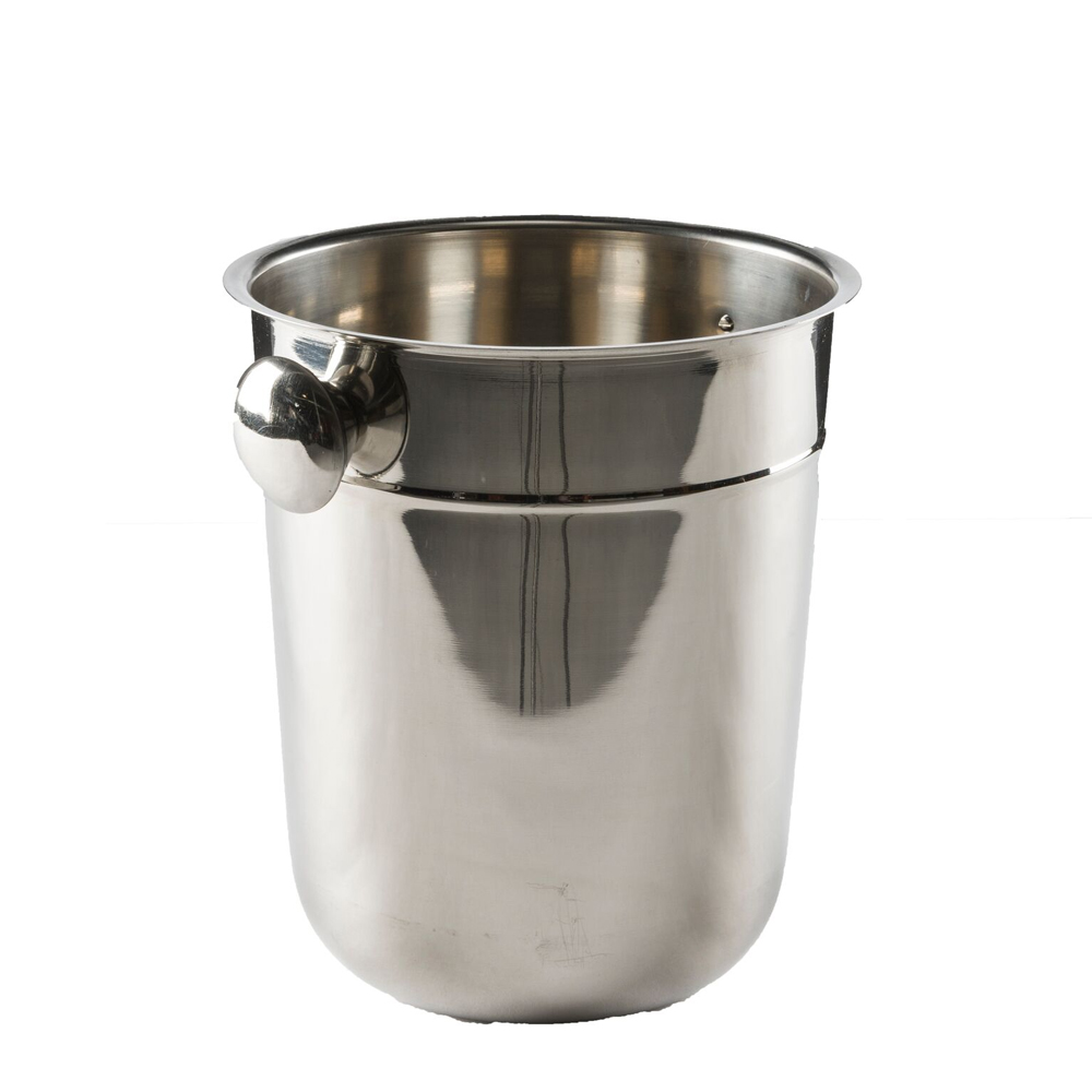 LARGE CHAMPAGNE BUCKET WITH STAND
