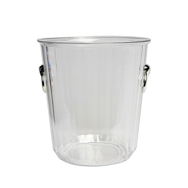 CLEAR PLASTIC WINE / ICE BUCKET