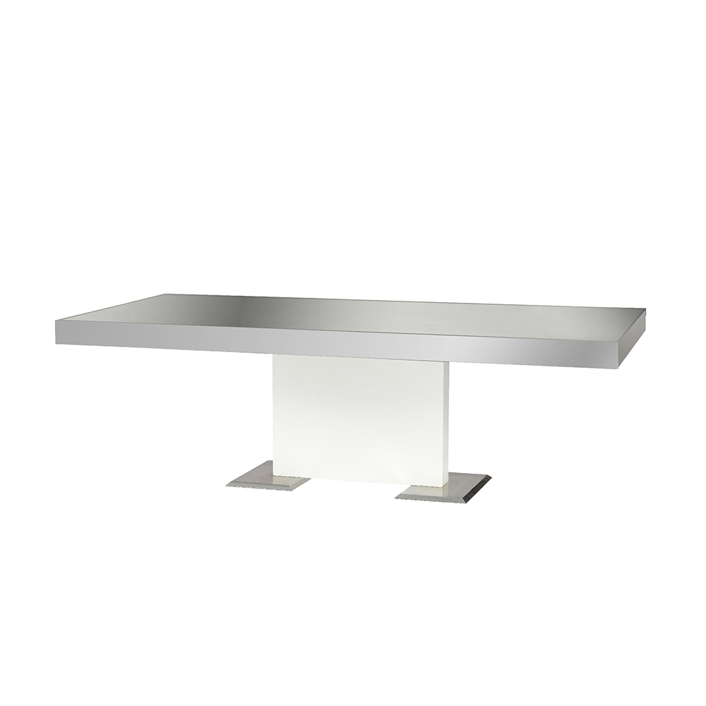 MIRRORED TOP GLOSSY BASE -