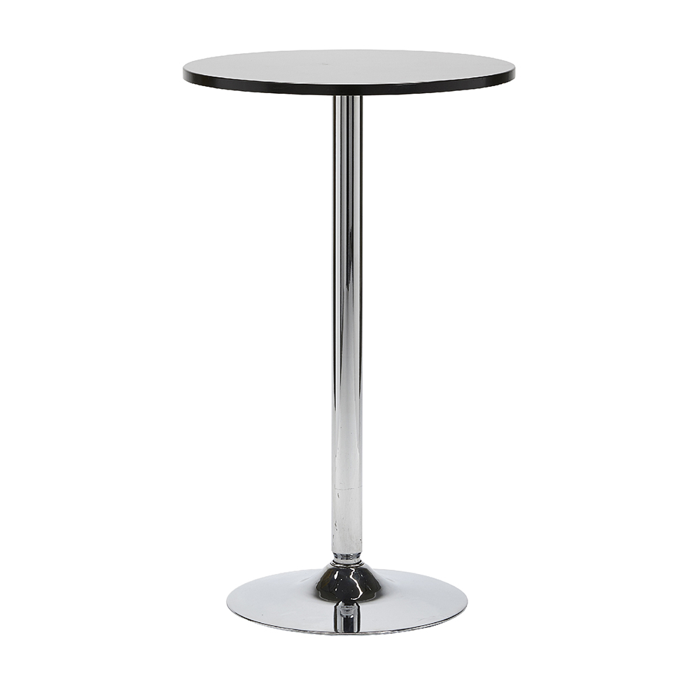 STNADARD BLACK TOP COCKTAIL TABLE -