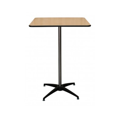 SQUARE HIGH COCKTAIL TABLE -