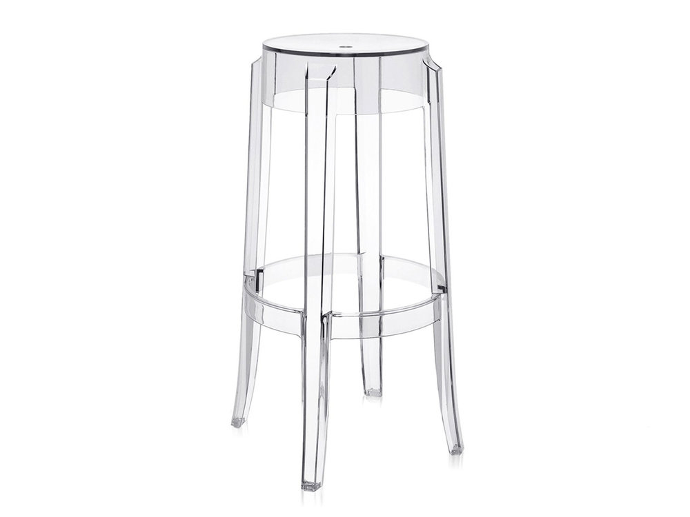 GHOST CLEAR BAR STOOL -