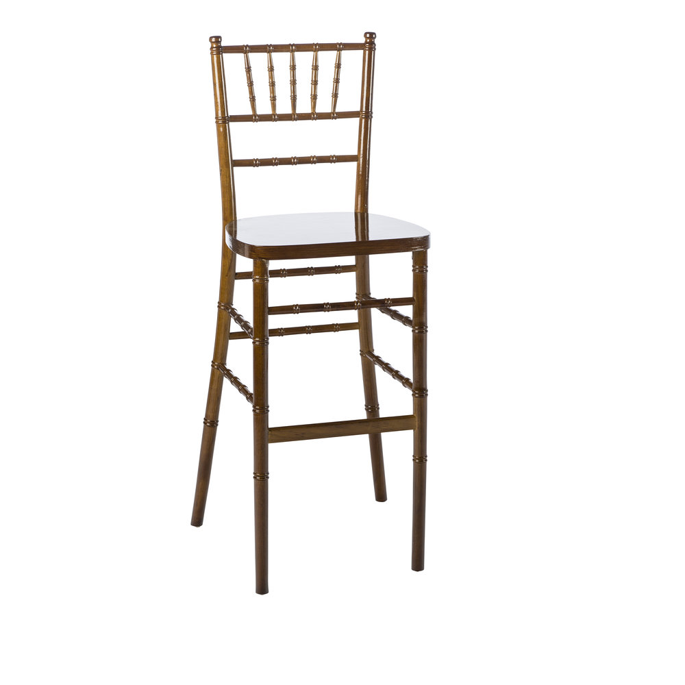 FRUITWOOD CHIAVARI BAR STOOL -
