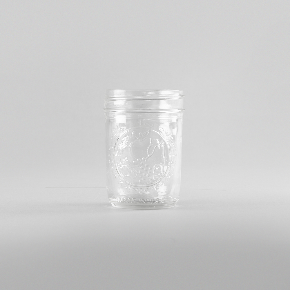 MASON JAR 8 OR 10 OUNCE -