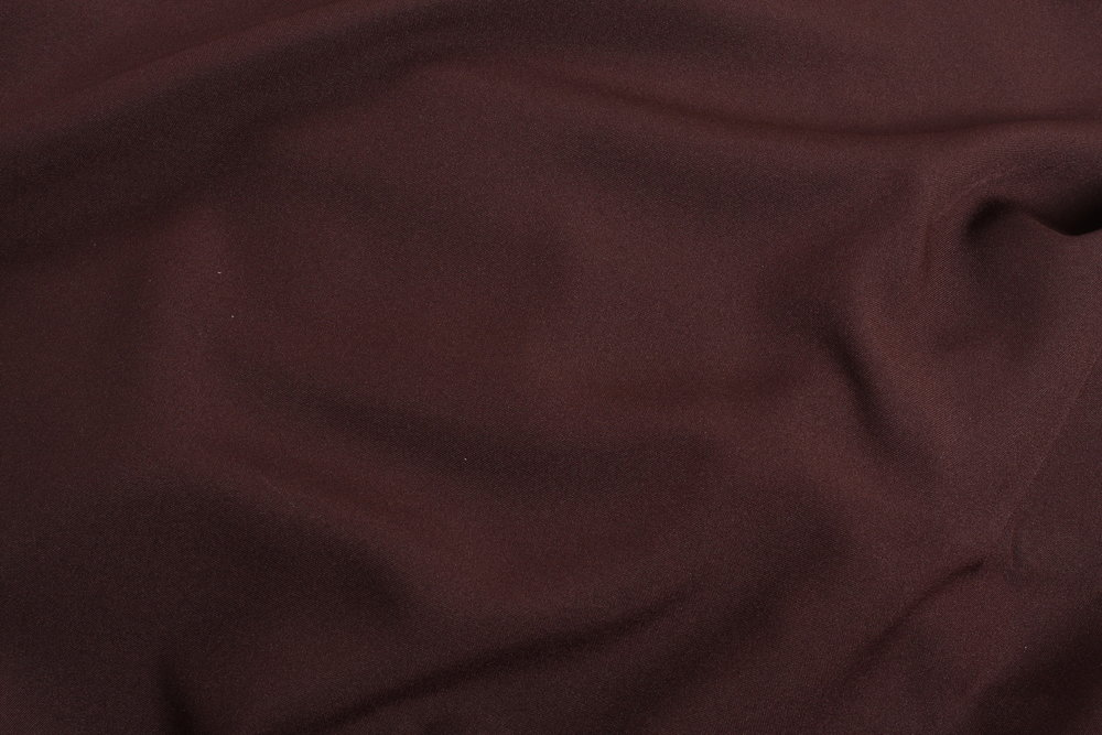 BURGUNDY  - COTTON /POLY BLEND -