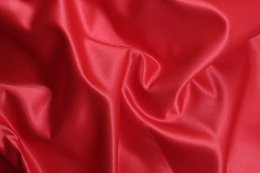 RED SATIN -