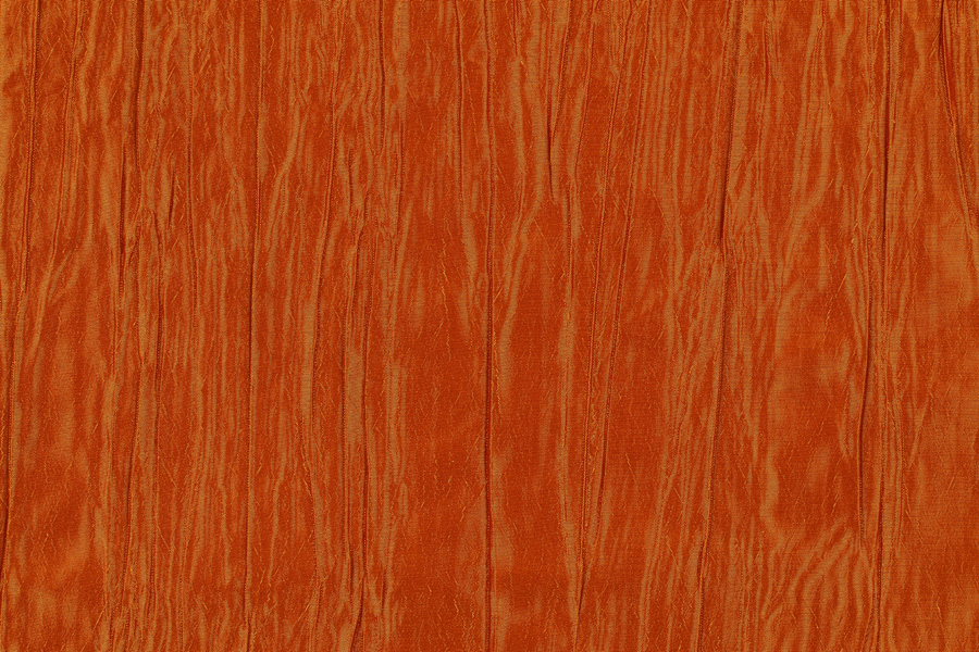 BURNT ORANGE TAFFETA -