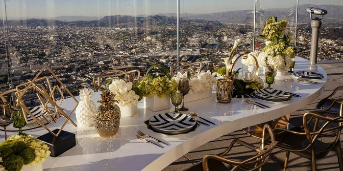 OUE Skyspace - As the tallest event space on the west coast, OUE Skyspace provides unobstructed 360-degree views of Los Angeles in a modern, sophisticated setting.