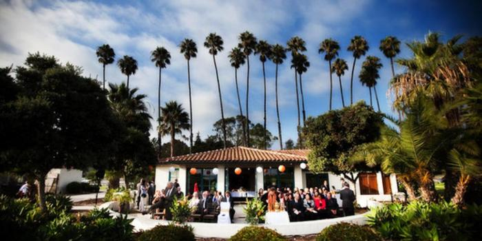 Chase Palm Park Center Santa Barbara  - The breathtaking scenery and comfortable Mediterranean climate make the City of Santa Barbara an ideal place to celebrate your wedding. The expansive grassy area that separates the building from the sand can be used for a picturesque ocean-side ceremony.